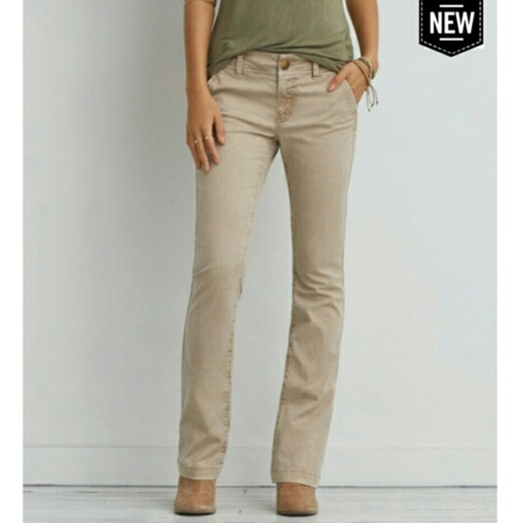 how to orders discount find workmanship American eagle women's khakis pants